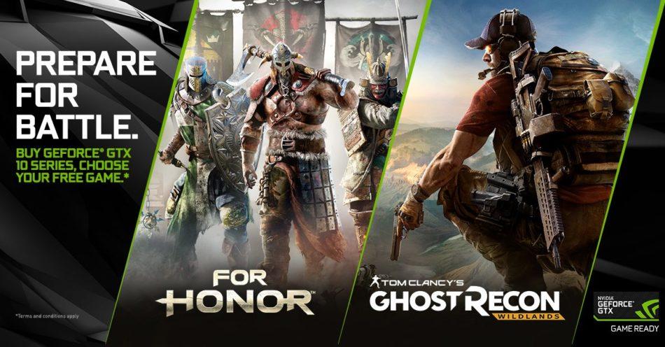 "GeForce GTX 1060 se suma al bundle ""Prepare for Battle"""