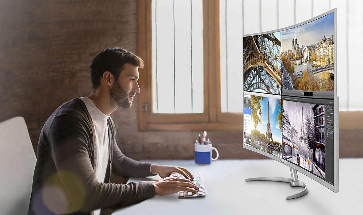 Los monitores de Philips y AOC afianzan su posicionamiento en el mercado español