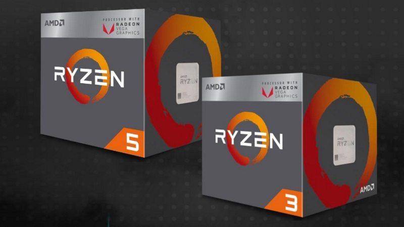 AMD lanza sus nuevas APU Ryzen con gráficos Vega