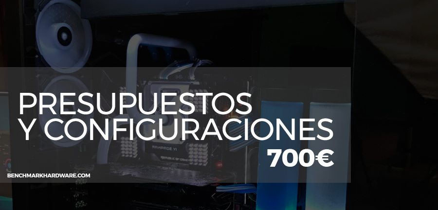 Presupuesto PC Gaming 700€ – Agosto 2018