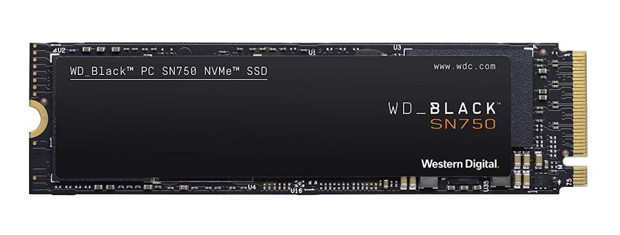 WD Black SN750 - Disco Duro SSD Interno NVMe para Gaming de Alto Rendimiento, 500 GB