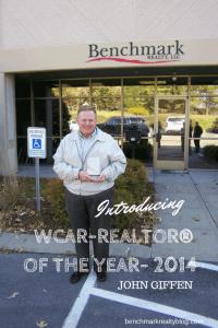 WCAR realtor of the year- John Giffen