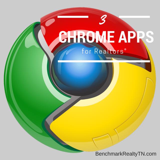 Chrome apps for realtors- Benchmark Realty