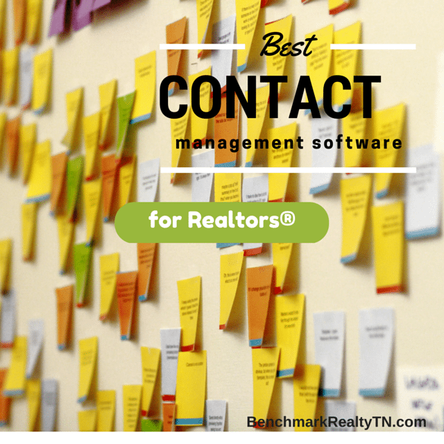 best contact management system for realtors 2015