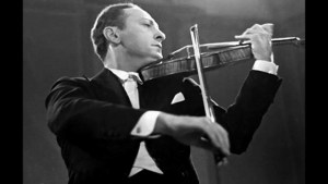 Jascha Heifetz, who many would declare the greatest of all Historical Violinists