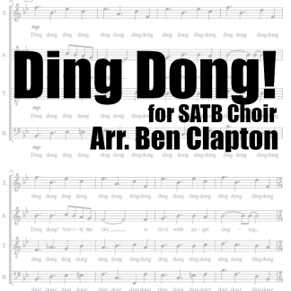 Ding Dong! An arrangement for SATB Choir