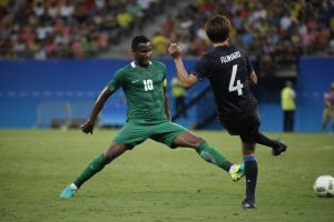 Mikel In Action For Nigeria