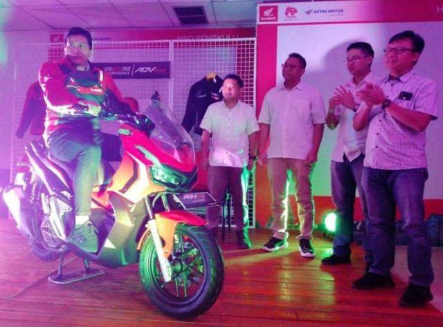 Wow, Antusias Masyarakat Bengkulu terhadap Honda ADV 150