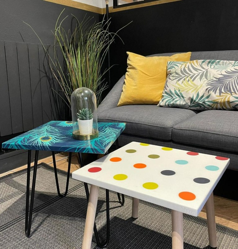 Read more about the article Table upcyclée – Tizu