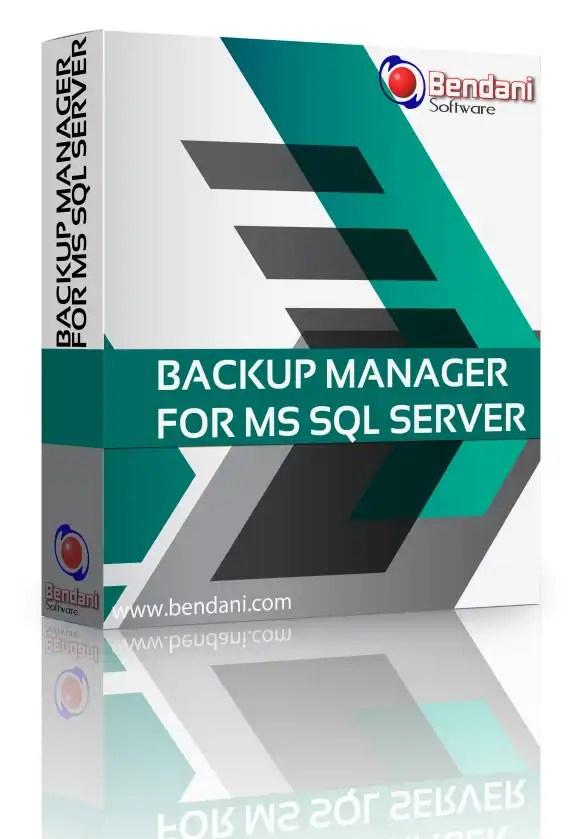 Bendani Backup Manager for Microsoft SQL Server