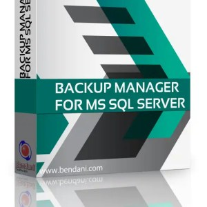 Bendani Backup Manager for MS SQL Server Box