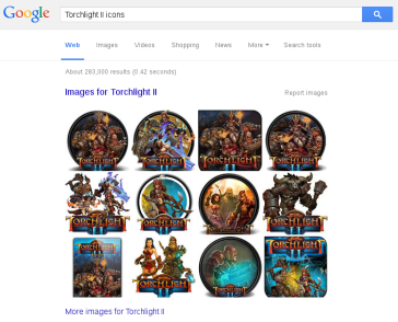 google-search-torchlight-icons