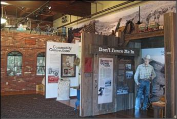 Crook County History Center in Prineville, Oregon