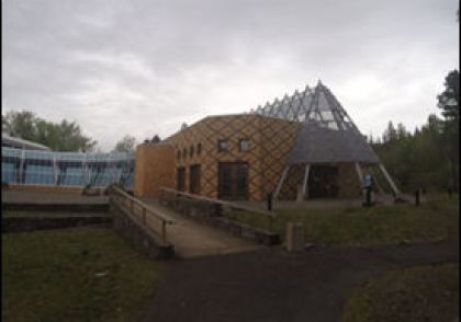 Exterior Warm Springs Museum
