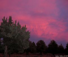 October Sunset in Bend