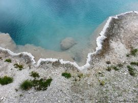 Near Grand Prismatic Spring Yellowstone NPk