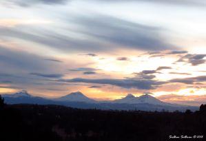 The Sisters & Broken Top Sunset