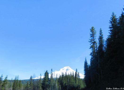 Mt Hood peek, Oregon