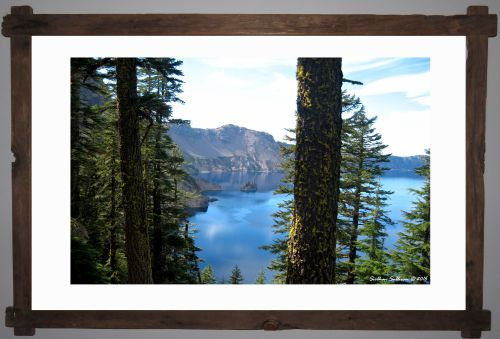 Parks as works of Art - Crater Lake National Park, Oregon