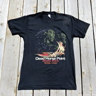 DeadHorsePointSPk T-shirt May2017