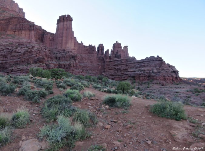 Fisher Towers near Moab, Utah 3May2017