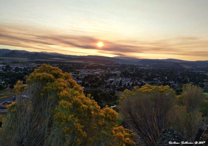 Sunrise Eclipse 2017 Prineville, Oregon 21August2017