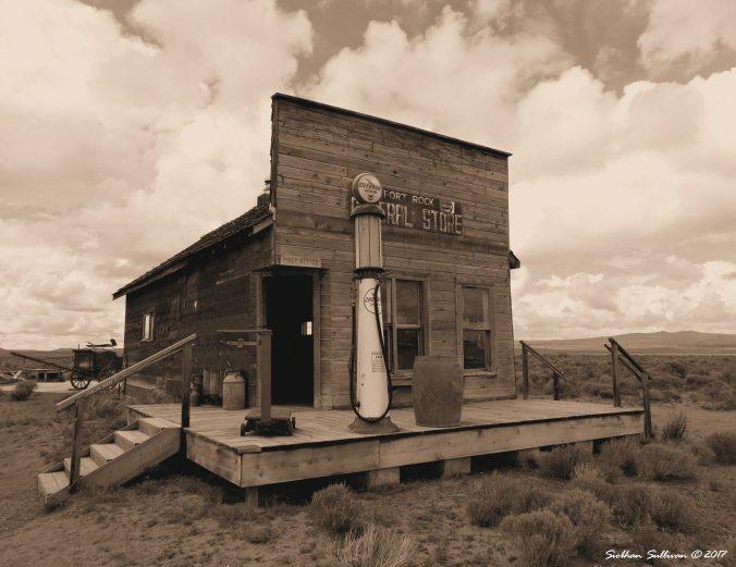 Fort Rock General Store, Fort Rock, Oregon 20May2015