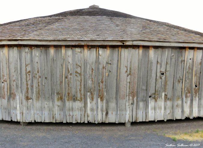 Pete French Round Barn near Diamond, Oregon 13Sept2017