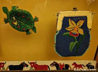 Beautiful Beadwork at the High Desert Museum 25February2018