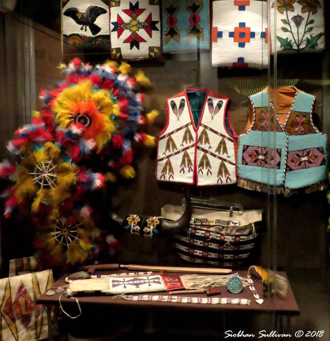 Beautiful Beadwork at the High Desert Museum 9December2015