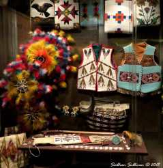 Beautiful Beadwork at the High Desert Museum 9December2015