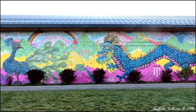 Big bold mural Bend, Oregon 19October2018
