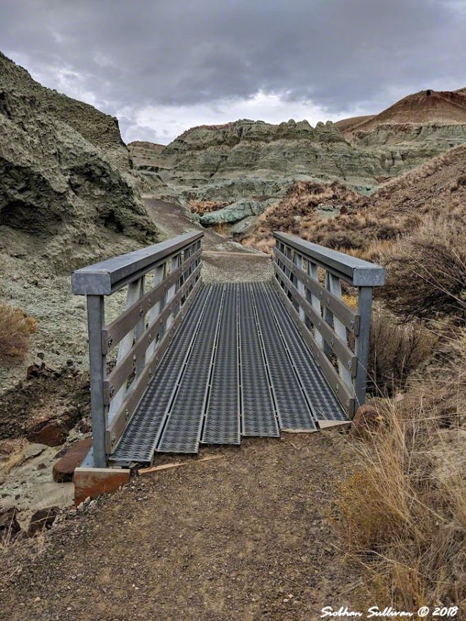 Blue Basin Bridge, John Day Fossil Beds National Monument, Oregon 26October2018