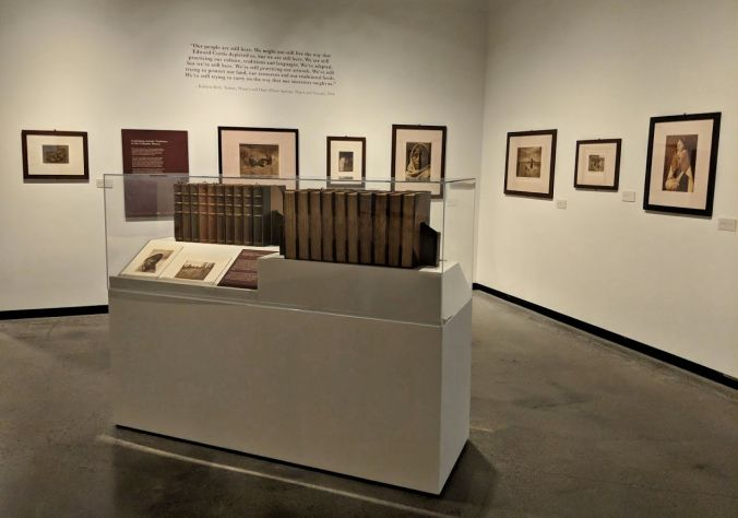 By Her Hand Exhibit of Edward S. Curtis Photos , High Desert Museum, Bend, Oregon October 2018
