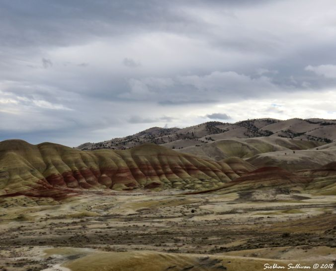 Viewpoints of Oregon, the Painted Hills near John Day 26October2018