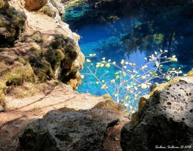 Blue Pool Reflections  14September2016