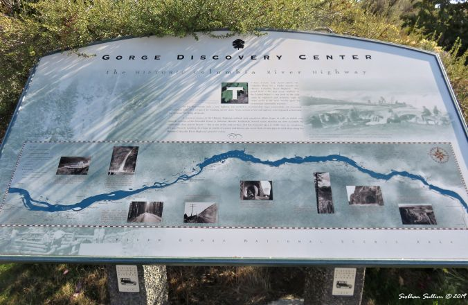 Map of Discovery Center area, The Dalles, Oregon 16October2017