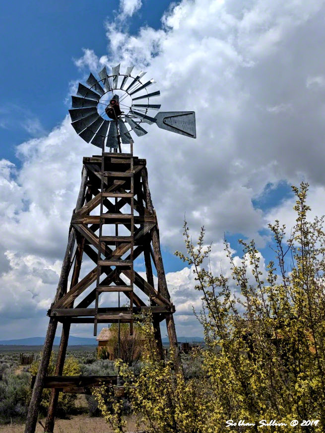 Magic in the wind. Windmill in Fort Rock, Oregon 30May2019