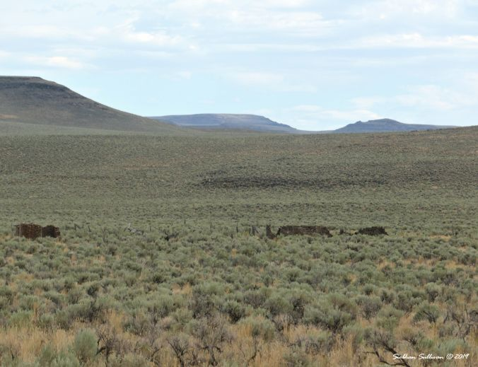 Stagecoach stop at Steens Mountain, Oregon August 2019