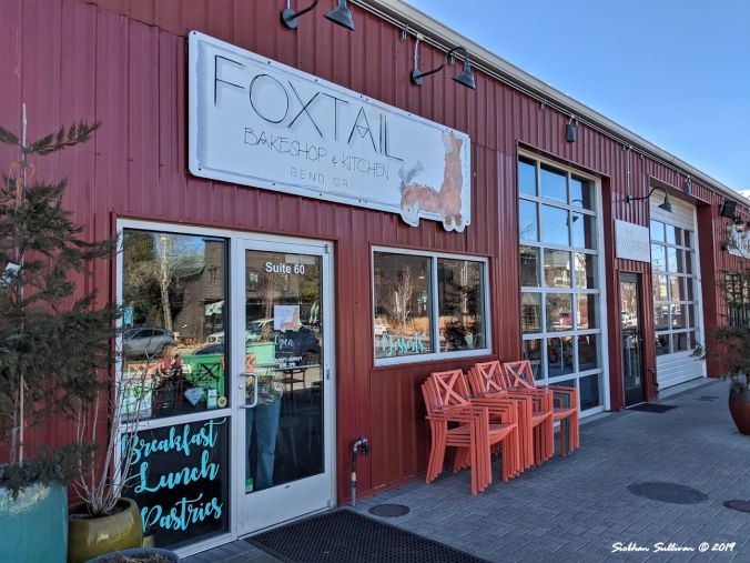 Sweet spot. Foxtail Bakeshop.  Bend Oregon February 2020