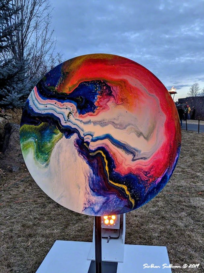 Lighting up winter nights at Oregon WinterFest February 2020
