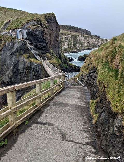 Carrick-a-Rede Rope Bridge, County Antrim, United Kingdom