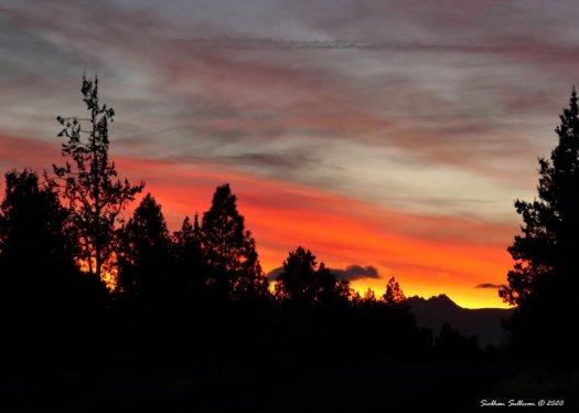 October High Desert Sunset