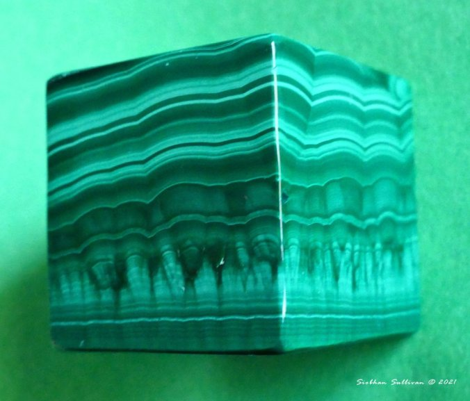 Marvelous malachite up close January 2021