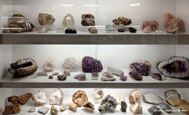 Amethyst and rose quartz, etc