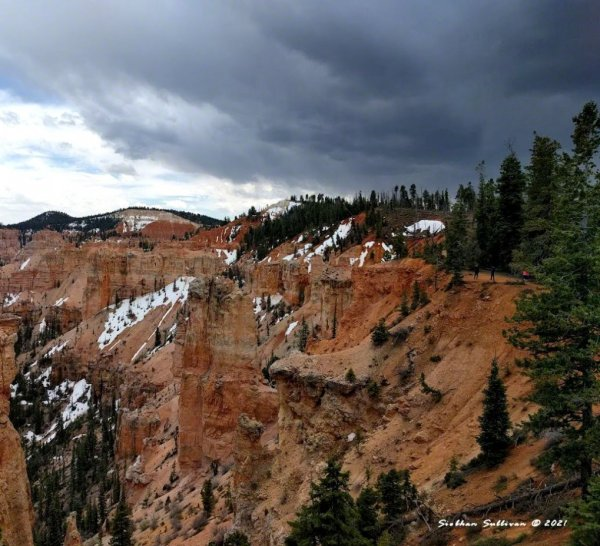 Snow at Bryce Canyon