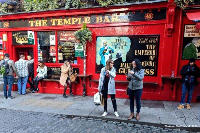 Street scenes in Dublin March 2020