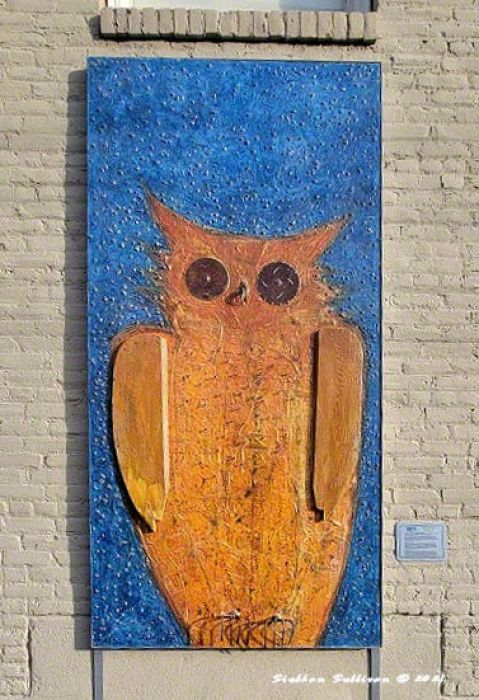 Lookout (with Owl as Witness) by Lloyd McMullen