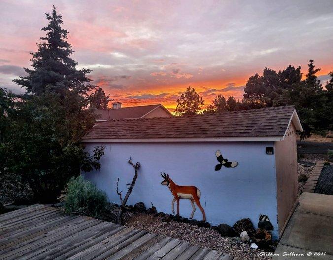 A magical Monday sunrise