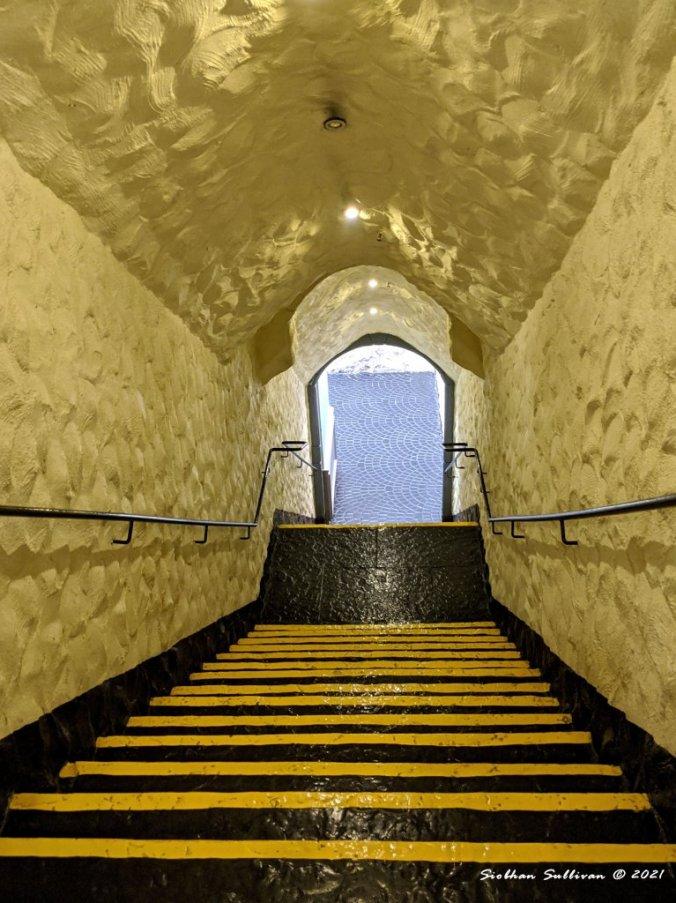 Golden Galway stairwell